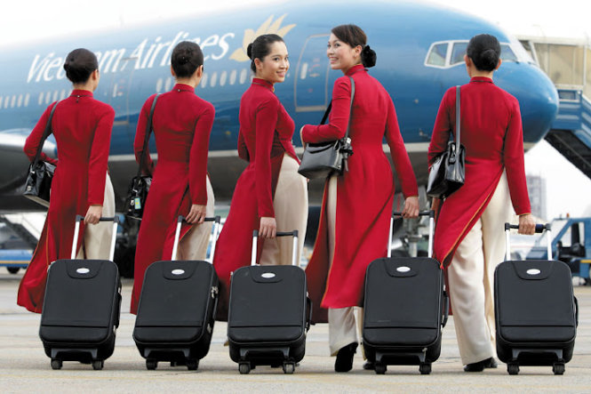 Vietnam Airlines' uniform