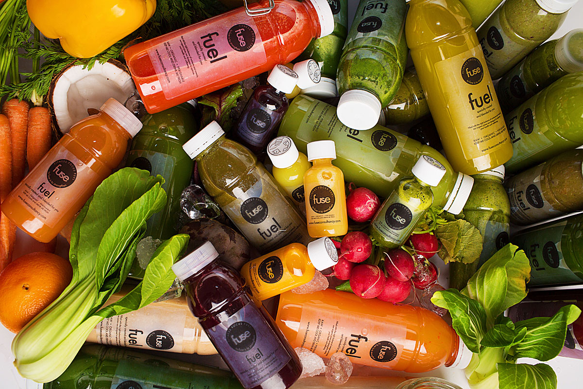 London Juice Cleanse and Detox Packages