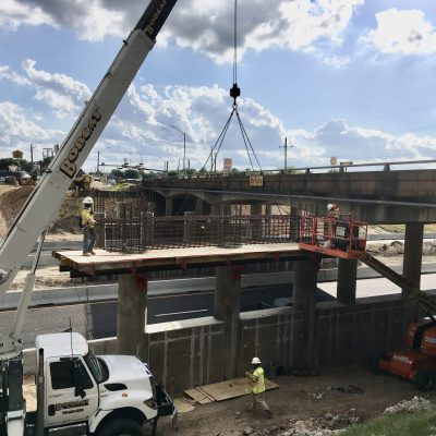 Widening of State Highway 21 Bridge Over Interstate 45