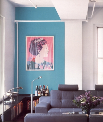 Image from the book Color at Home. (via Fushion Magazine)