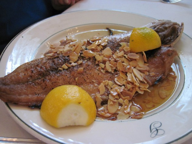 red snapper amandine