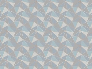 geometric pattern wallpaper mural
