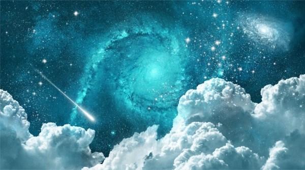 Night Sky Space Wallpaper