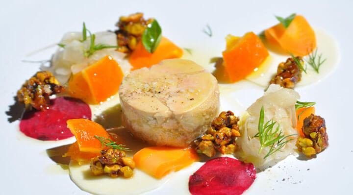 rouleau de foie gras fume sous vide
