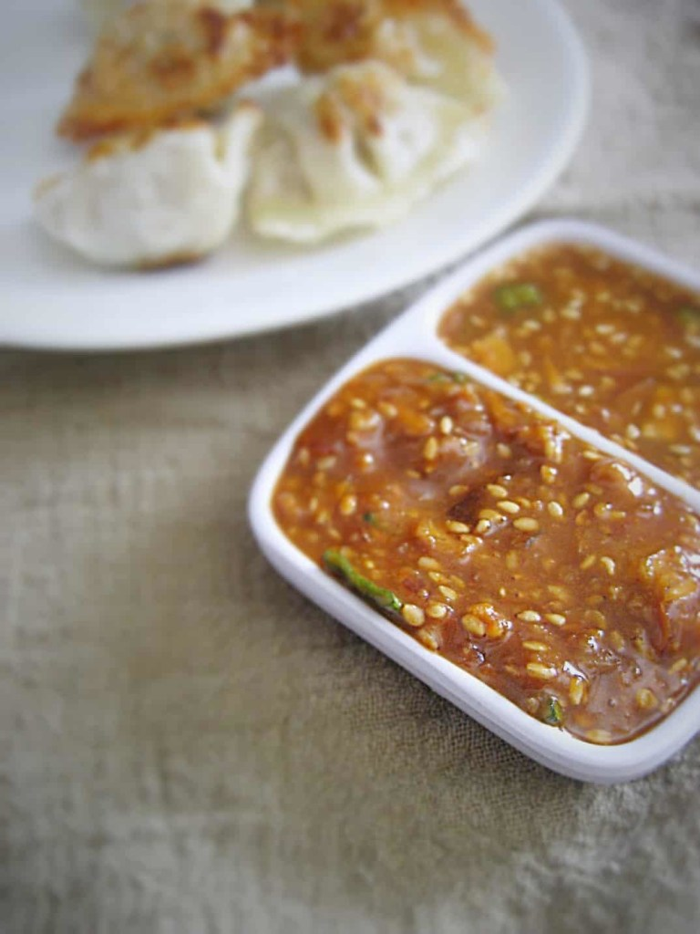 Ssamjang sauce is my favorite Korean sauce, perfectly balanced, super spicy but not hot!