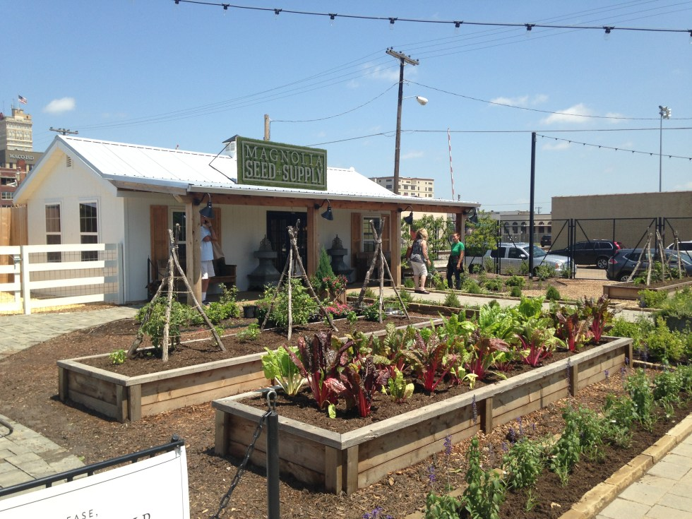 Vegetable Gardens at Magnolia Market