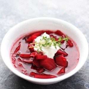 Polish Beet Soup Recipe