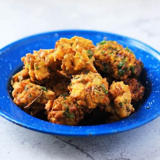 Pakora Recipe | Crispy Zucchini Fritters