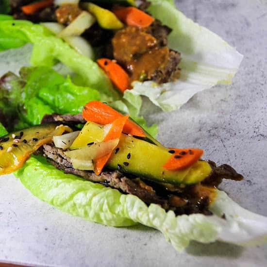 Korean BBQ Bulgogi, an easy Korean classic.