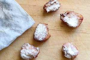 Easy Beignets For The Home Cook. Starting with a pate a choux and ending in powdered sugar, this New Orleans donut is actually a French classic made easy for the home cook. Bon Appetit!   FusionCraftiness.com