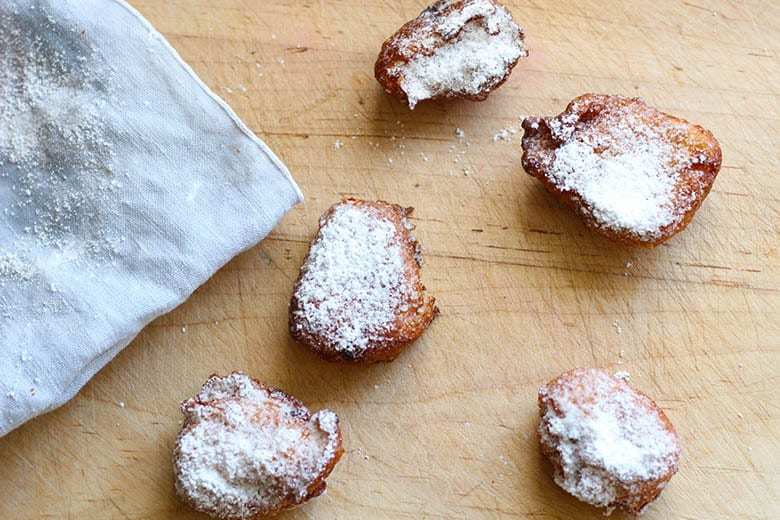 Easy Beignets For The Home Cook. Starting with a pate a choux and ending in powdered sugar, this New Orleans donut is actually a French classic mad easy for the home cook. Bon Appetit! | FusionCraftiness.com