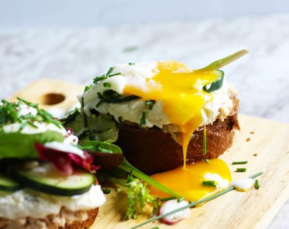 Danish Smorrebrod Recipe with Salmon | an open-faced sandwich