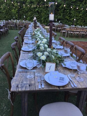 Modern Rustic Wedding Palm Springs