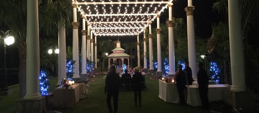 Evening Wedding Palm Springs