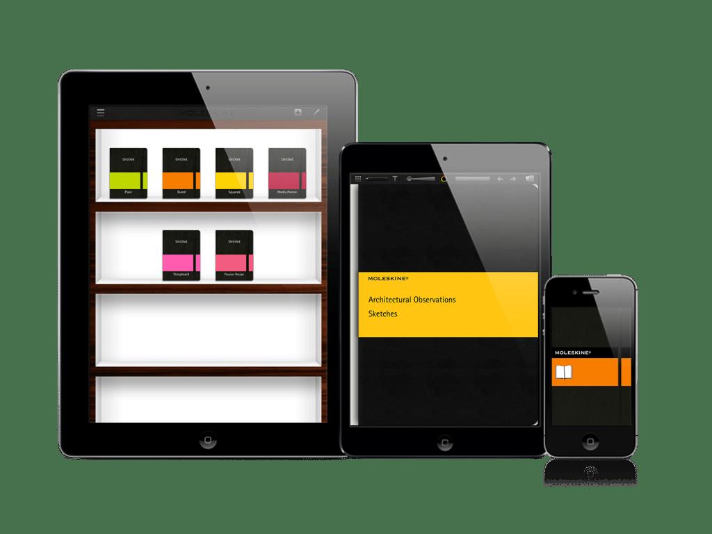 Moleskine iOS app