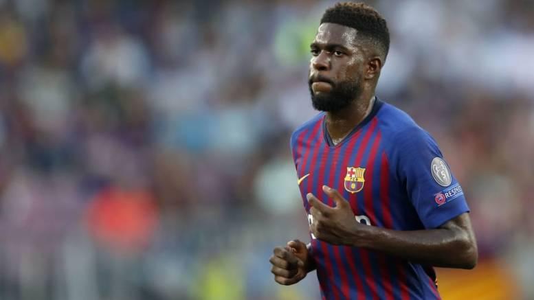 Bericht Barça Bangt Um Umtiti Monatelange Pause Droht