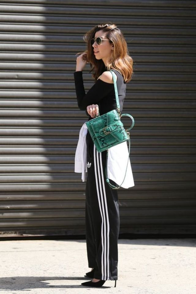 10 Street Style Photos To Show You Chic Ways To Wear Track