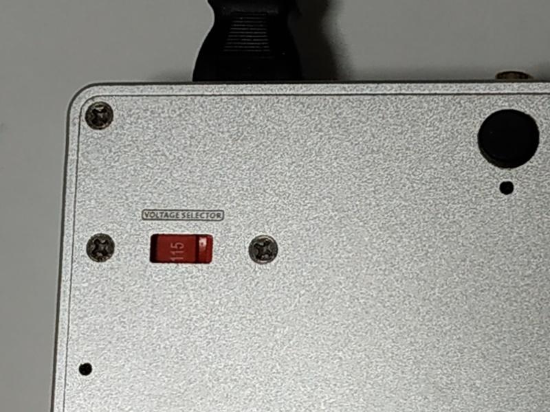 SU-8 電圧設定