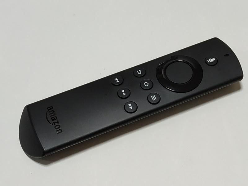 Amazon Fire TV Stickリモコン