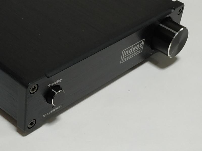 Indeed TDA7498E MKⅡフロントパネル