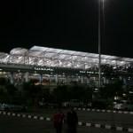 ハイデラバードの空港