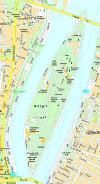 margitsziget térkép Margitsziget térkép | Margitsziget
