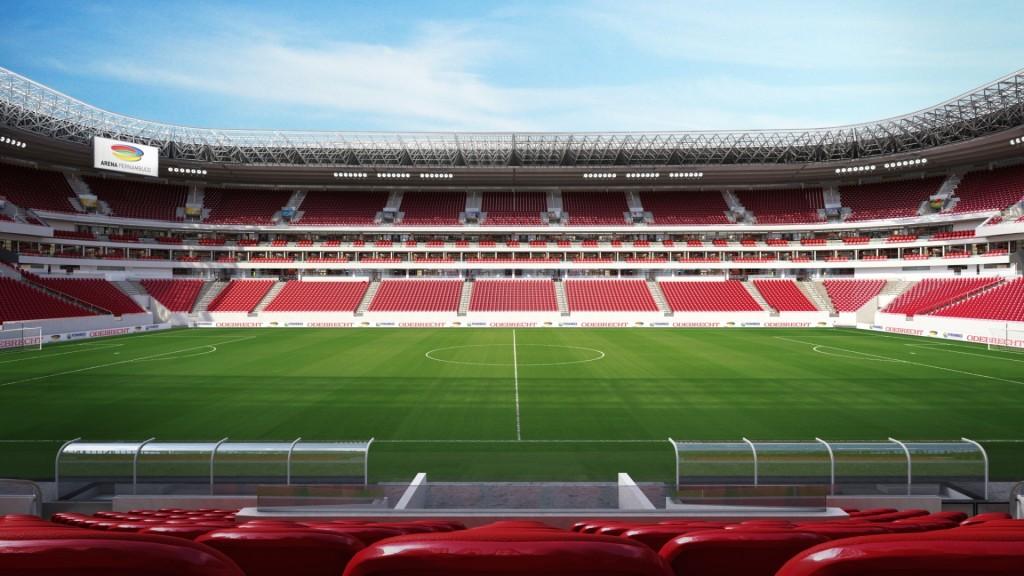 Arena Pernambuco, Recife. Foto: CBN Recife 97.1