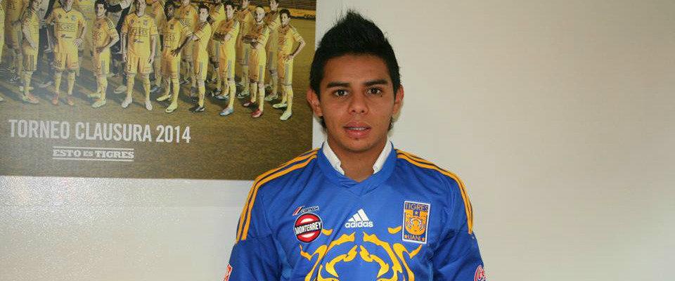 Alexander Larín, ex-jugador del FAS llega a préstamo desde el tigres de México. Foto: herediano.com
