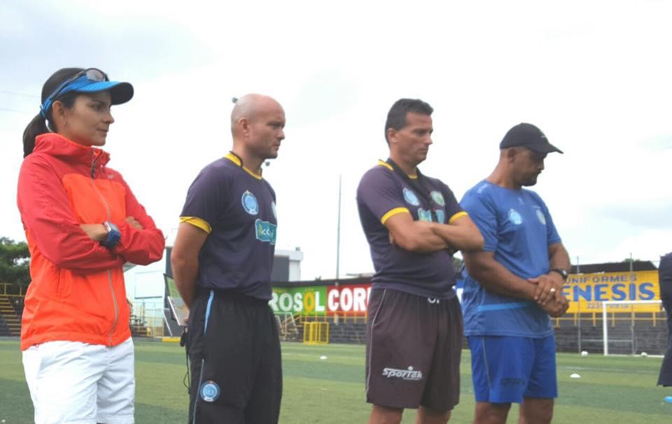 Randall Chacón ha tenido un paso positivo en el timón de la UCRFoto: Club de Futbol UCR