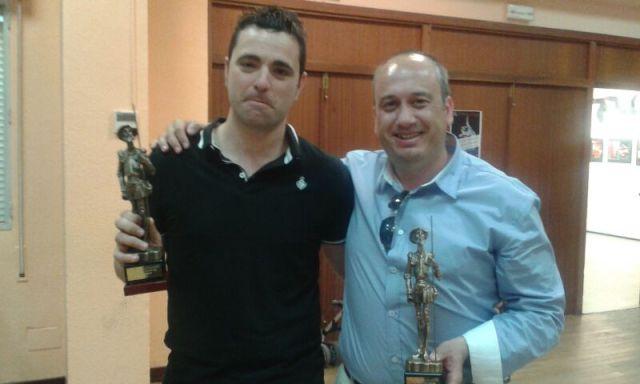 David Ruiz y Chuso, campeón y subcampeón de Liga