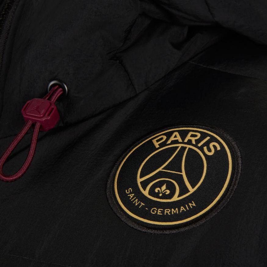 nike jordan x paris saint germain down parka solid 2020 2021 coat