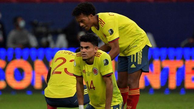 Luis Díaz y Juan Guillermo Cuadrado: en el once ideal de las semifinales en Copa América
