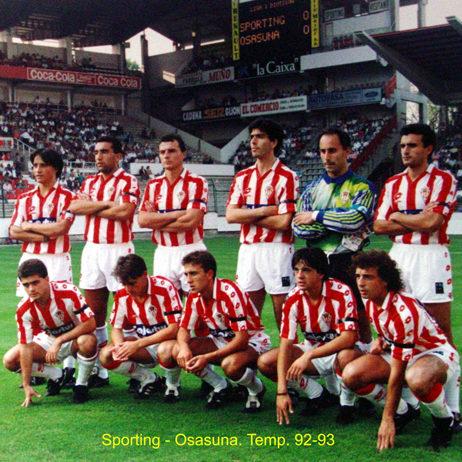 Sporting - Osasuna 92-93