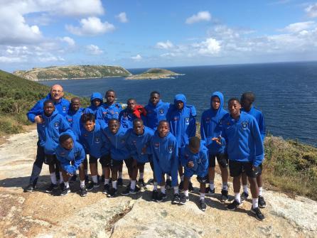 XV Torneo Internacional Infantil de Fútbol 7 de Carballo 2019. AFA Campeón. Equipo 24
