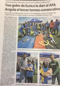 XV Torneo Internacional Infantil de Fútbol 7 de Carballo 2019. AFA Campeón. Prensa 03