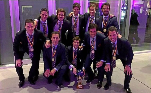 Los notarios de España, Campeones de Europa