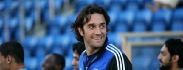 Luca Toni, con el Al Nasr