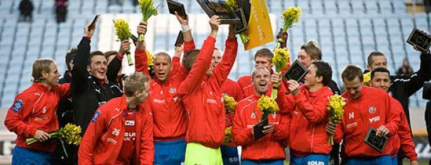 El Helsingborgs IF dominó el 2011 en Suecia
