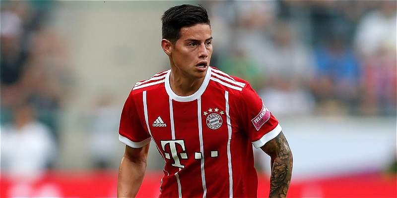 Debut De James Rodrguez Con Bayern Mnich En La Copa
