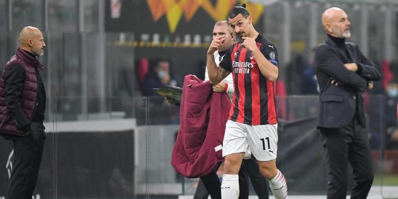 Video: Zlatan hace gesto a Pioli criticando su sustitución en Europa League  2020-2021   Milan vs Lille últimas noticias   UEFA Europa League   Futbolred