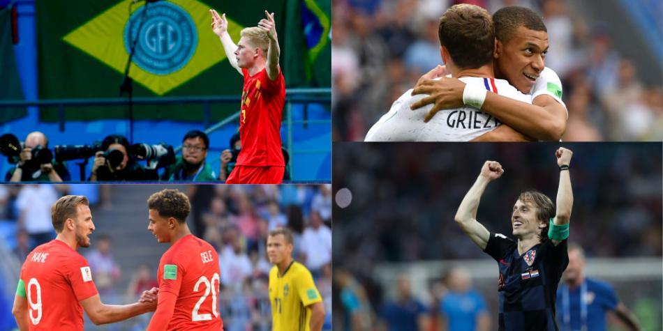 Semifinalistas del Mundial