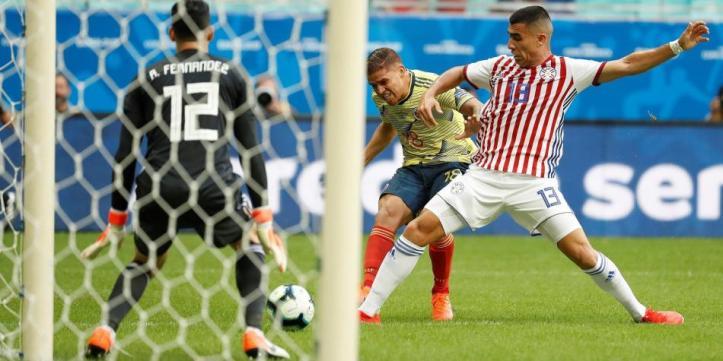 Resultado de imagen para colombia paraguay