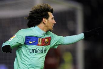 Messi de nuevo