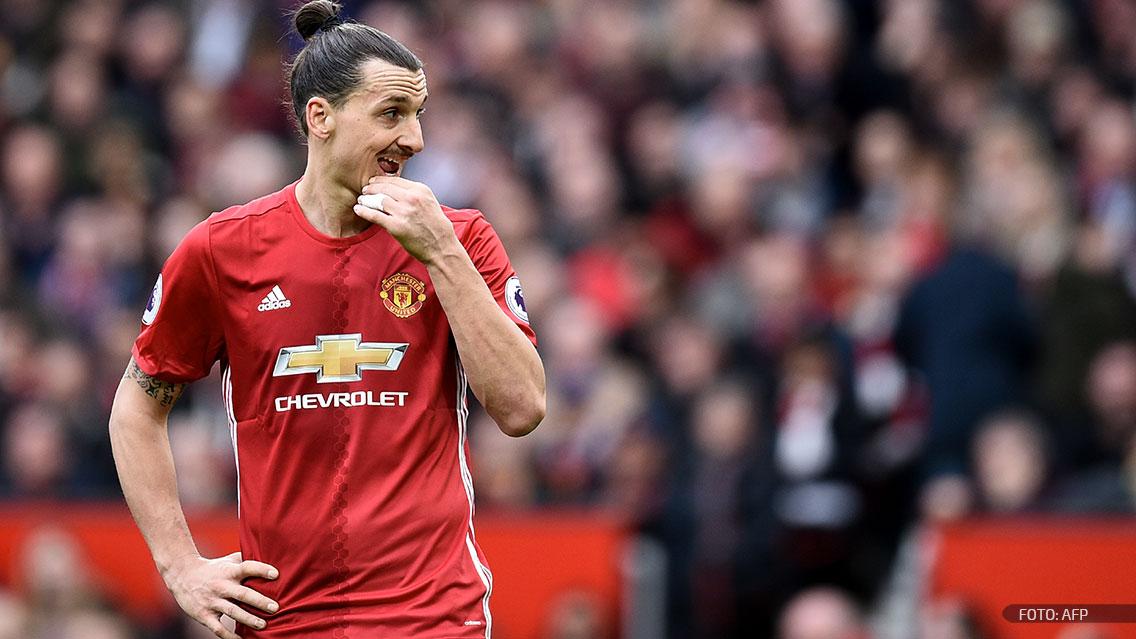 Zlatan Ibrahimovic comienza a alejarse del Manchester United