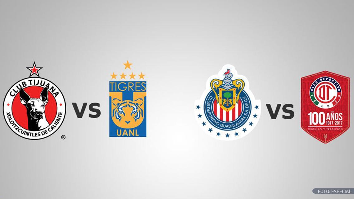 Toluca-Chivas abre semifinales del Clausura que se jugarán jueves y domingo
