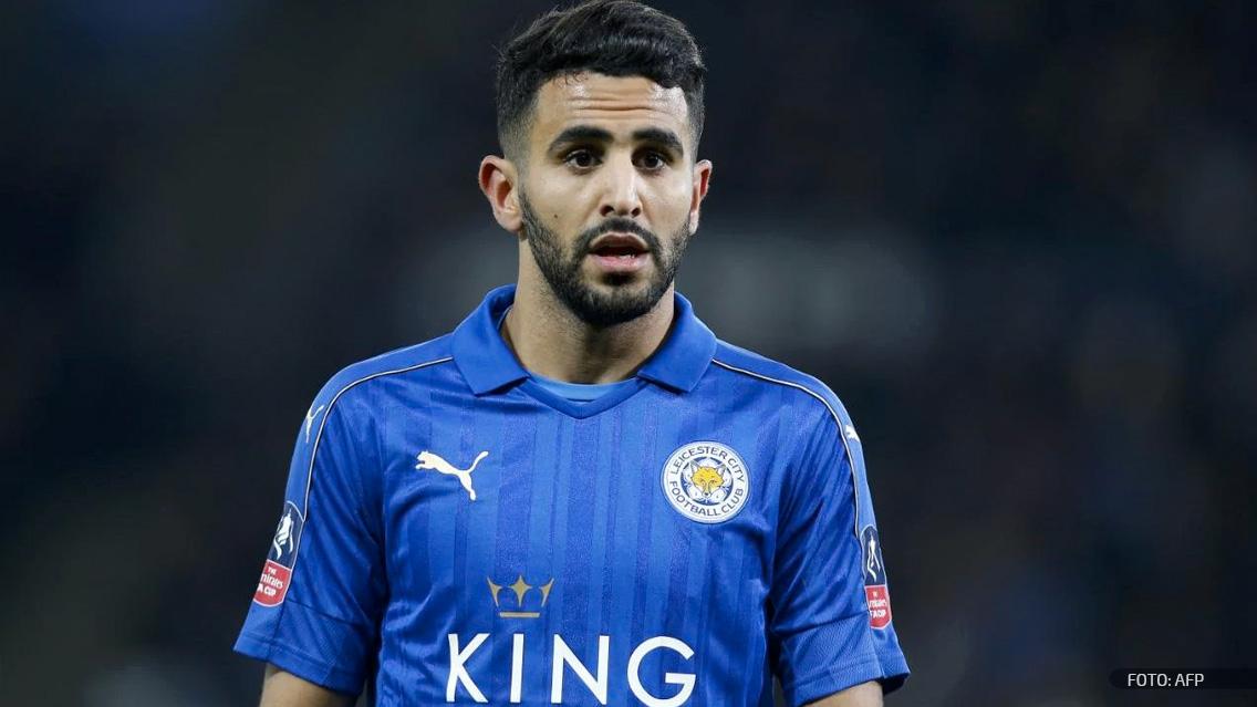 Riyad Mahrez quiere salir del Leicester City