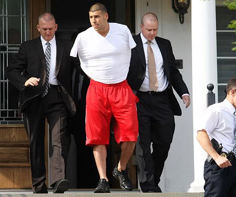 Resultado de imagem para Aaron Hernandez preso