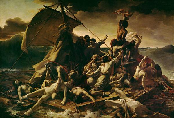 http://commons.wikimedia.org/wiki/File:Theodore_Gericault_Raft_of_the_Medusa-1.jpg