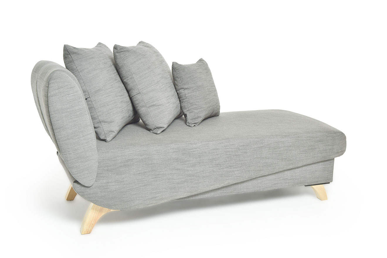 Convertible Chaise Long With Storage Futon Company