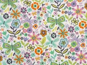 Butterfly Garden 22'' Bolster Pillow Set